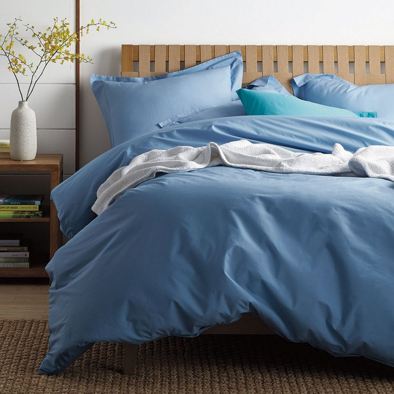 Classic Percale Solid Duvet Cover
