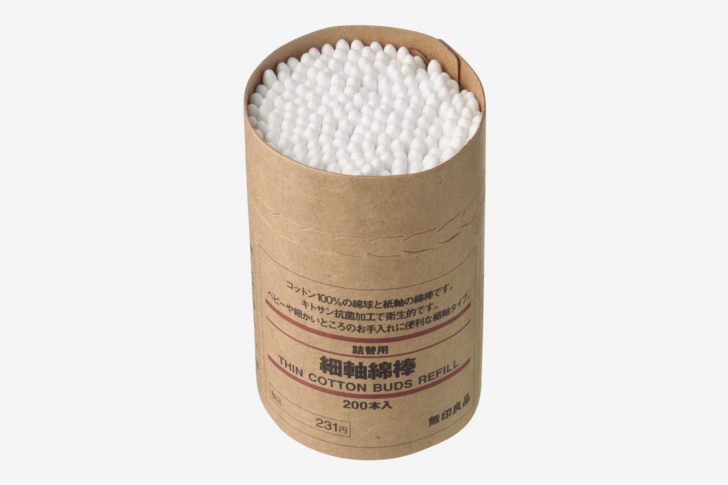 Muji Thin Cotton Swab Refills