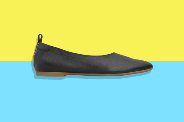 These Sneaker-Like Italian Leather Everlane Flats Are Just $100 Today Only