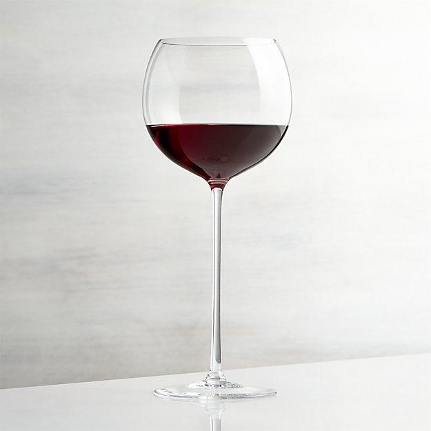 Crate & Barrel Camille Long Stem Wine Glass