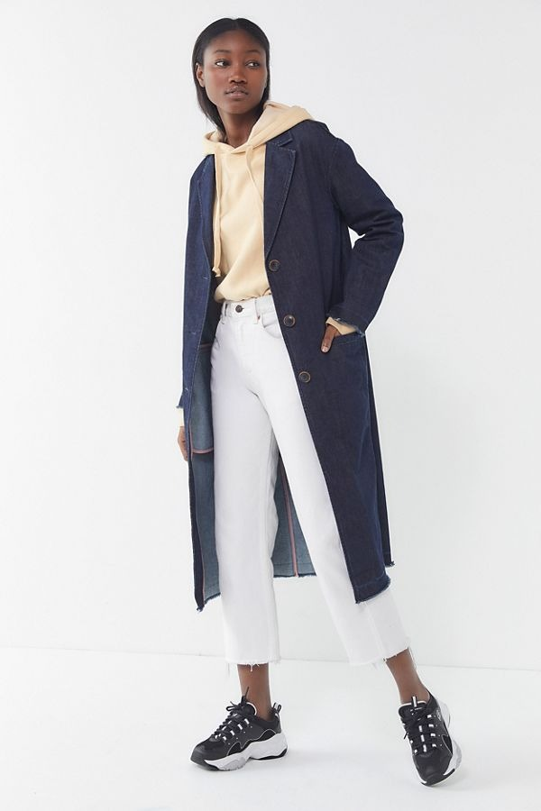 Levi's Denim Button-Front Duster Jacket