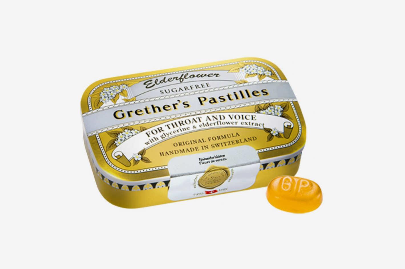 Grether's Pastilles Sugar-Free Elderflower Pastilles