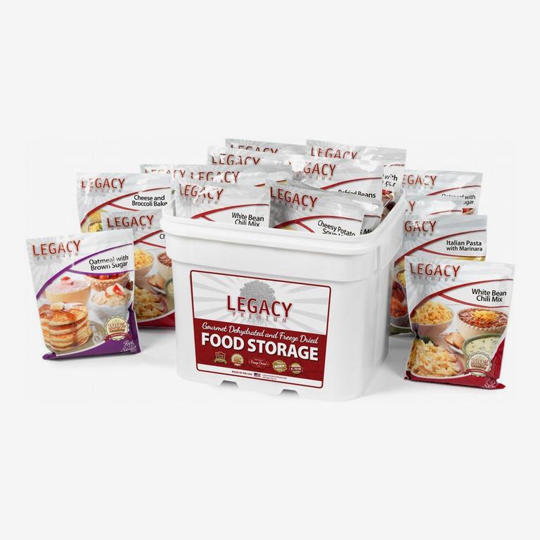 Legacy Premium Food Storage: 240 Large Servings