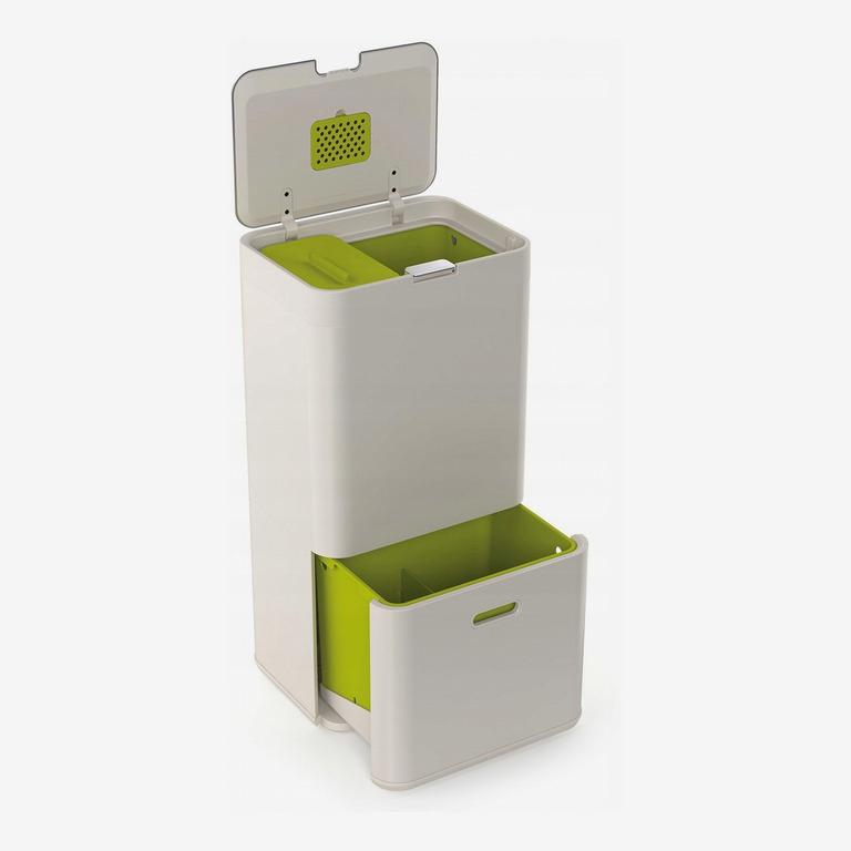 Joseph Joseph IntelligentWaste Totem 60-Liter Trash Separation & Recycling Unit