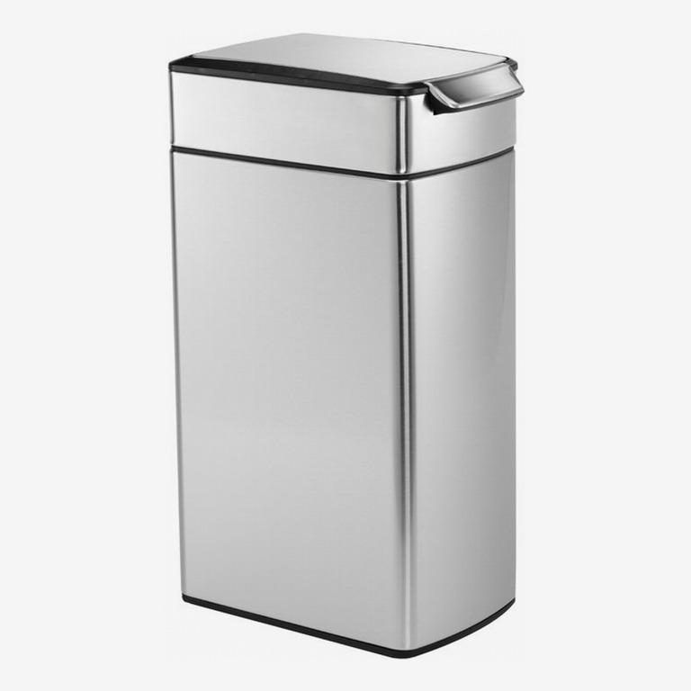 Simplehuman 10.6 Gallon Slim Touch-Bar Trash Can