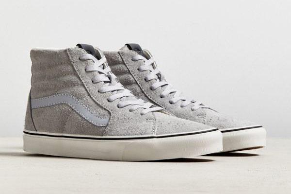 Men's Vans Sk8-Hi Hairy Suede Sneaker