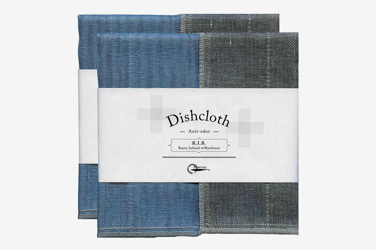 Nawrap Binchotan Dishcloths, 2 Pack