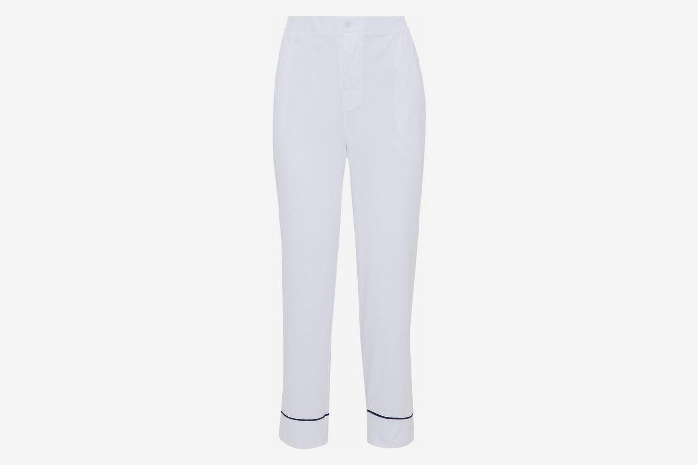 Cotton-Jersey Pajama Pants