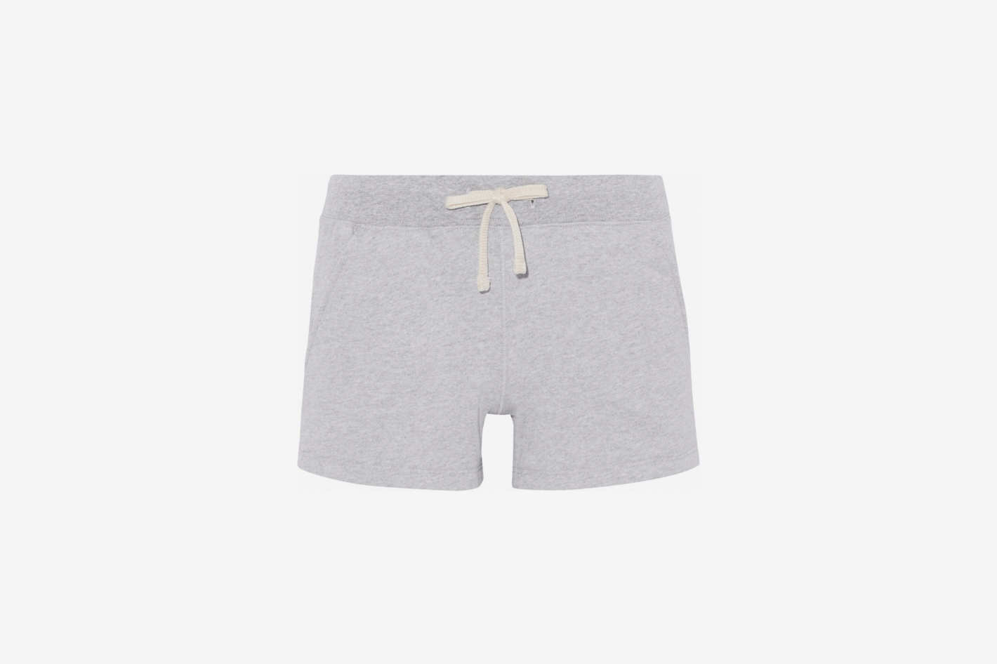 Ribbed-Trimmed Cotton-Fleece Pajama Shorts