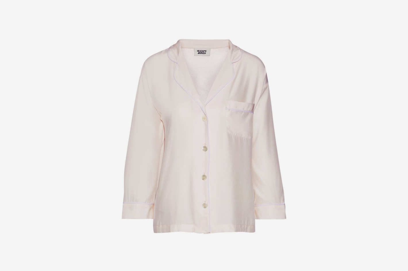 Marina Silk Pajama Top