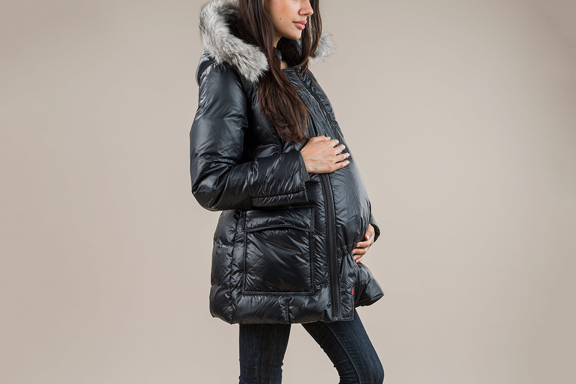 The M Coat Maternity and Babywearing Jacket