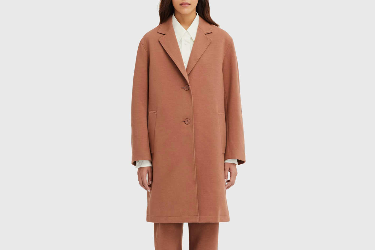 Uniqlo Women's U Double Face Coat
