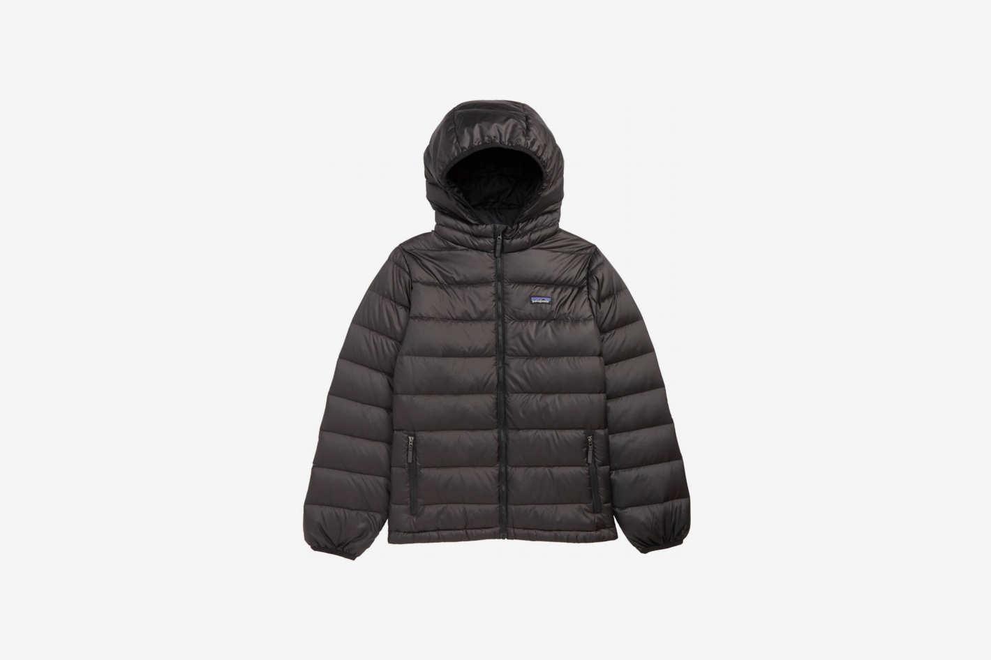 Patagonia Hooded Down Jacket (Little Boys & Big Boys)