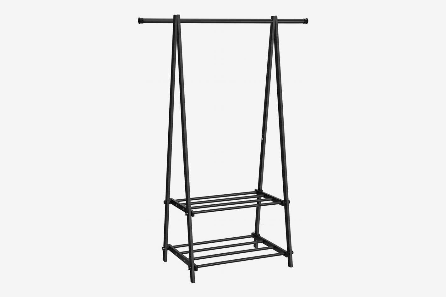 SONGMICS Rack with 2-Tier Shelf