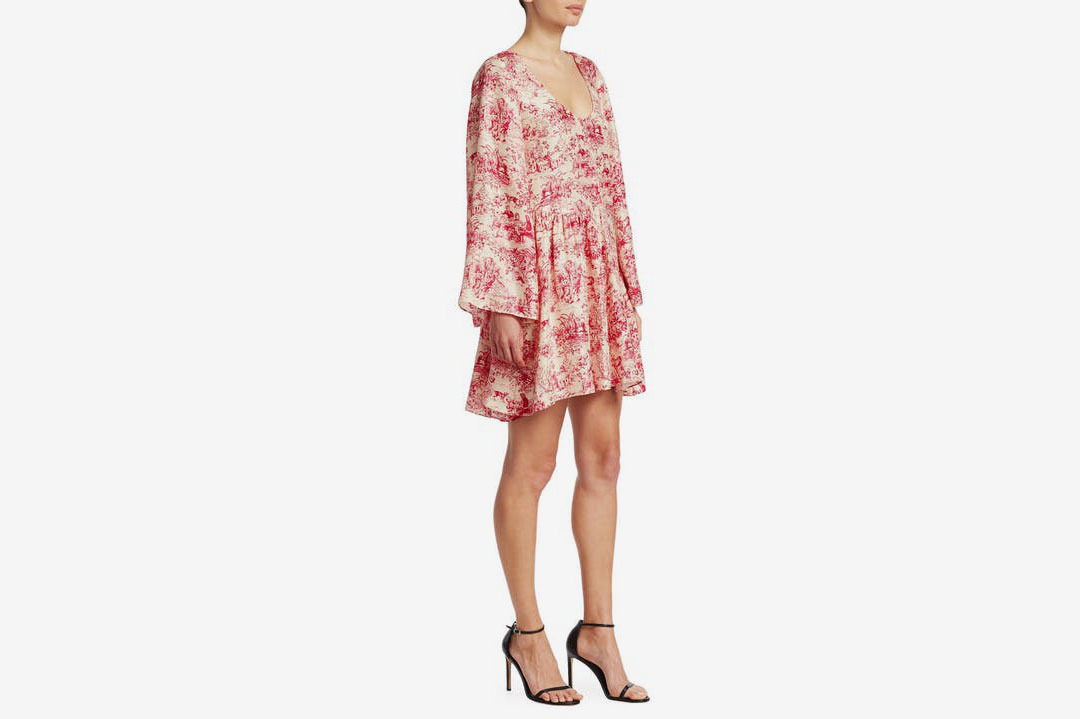Elizabeth & James Floral Print Dress