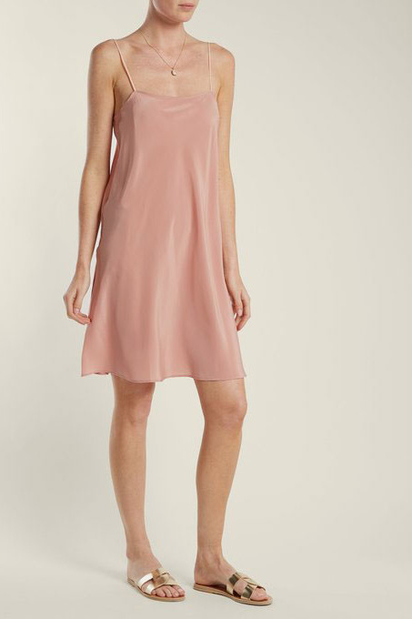 Loup Charmant Silk Slip Dress