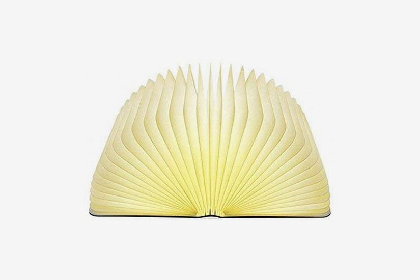 MOMO Wooden Folding Book Light