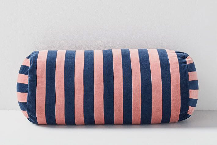 Christina Lundsteen Stripe Bolster Pillow