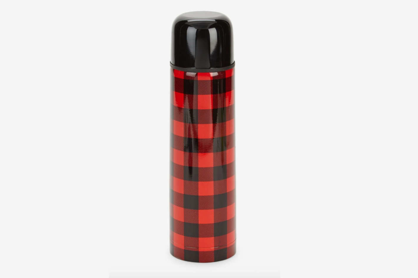 Art and Cook Checkered Thermos