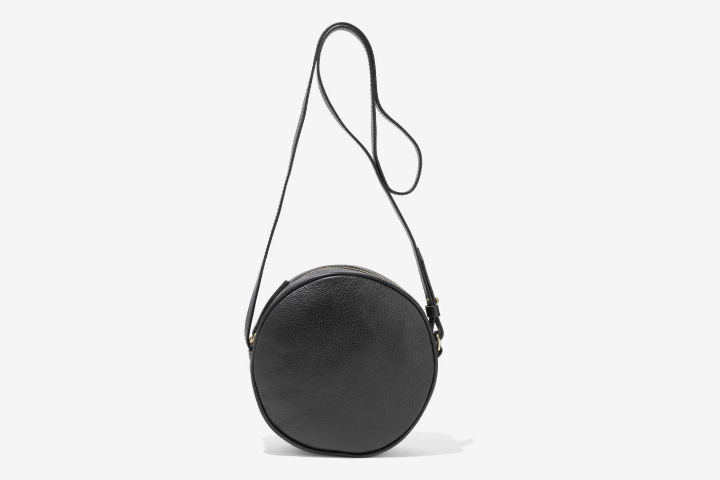 Iris & Ink Pebbled Leather Shoulder Bag