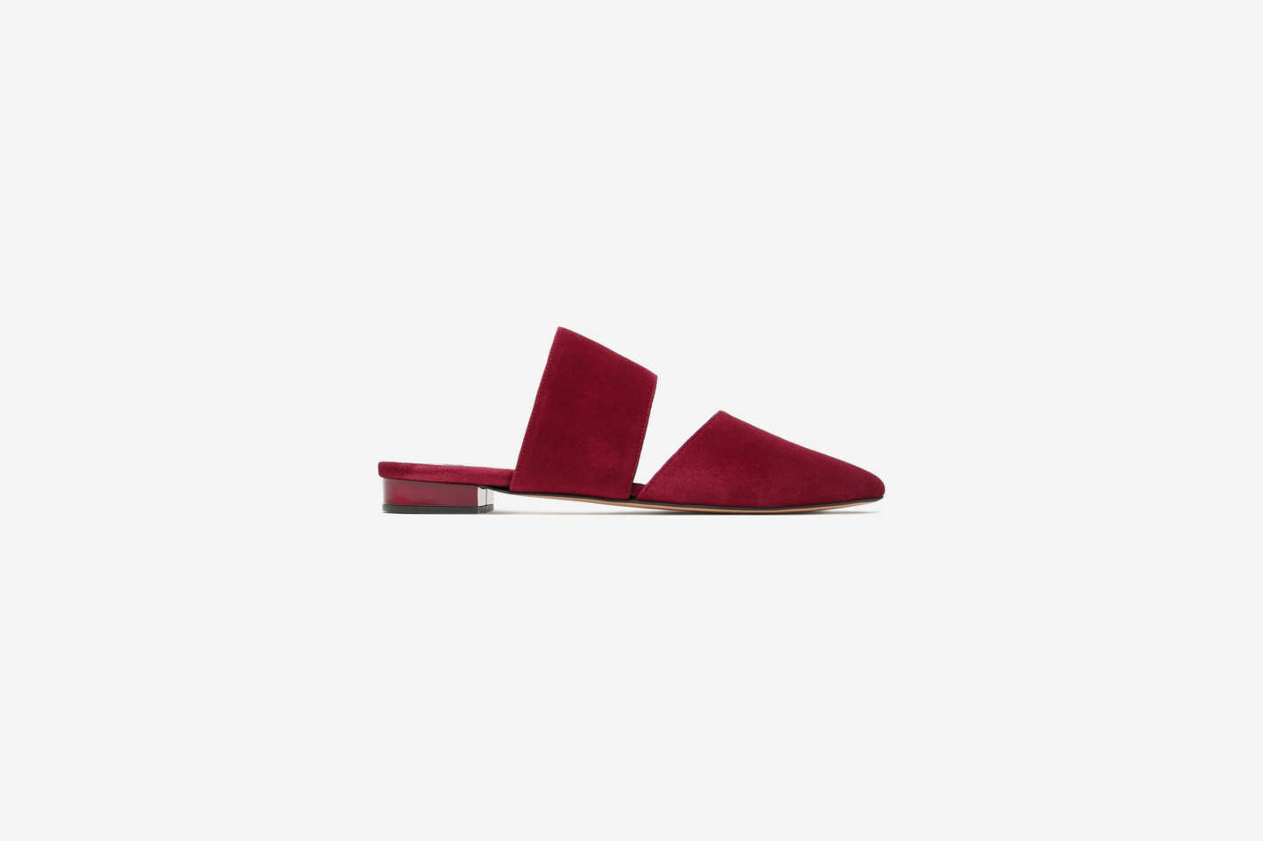 Iris & Ink Cutout Suede Slippers