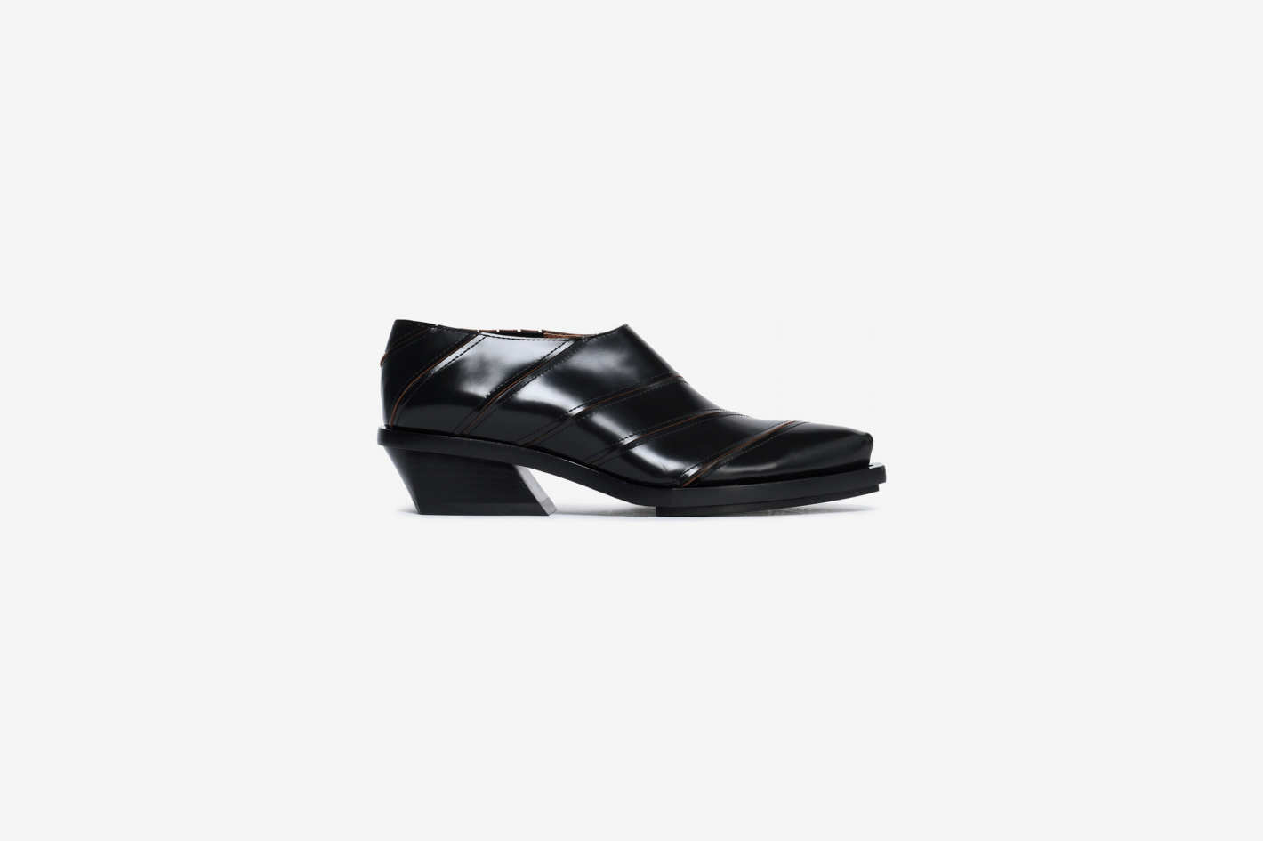 Proenza Schouler Sliced Leather Brogues