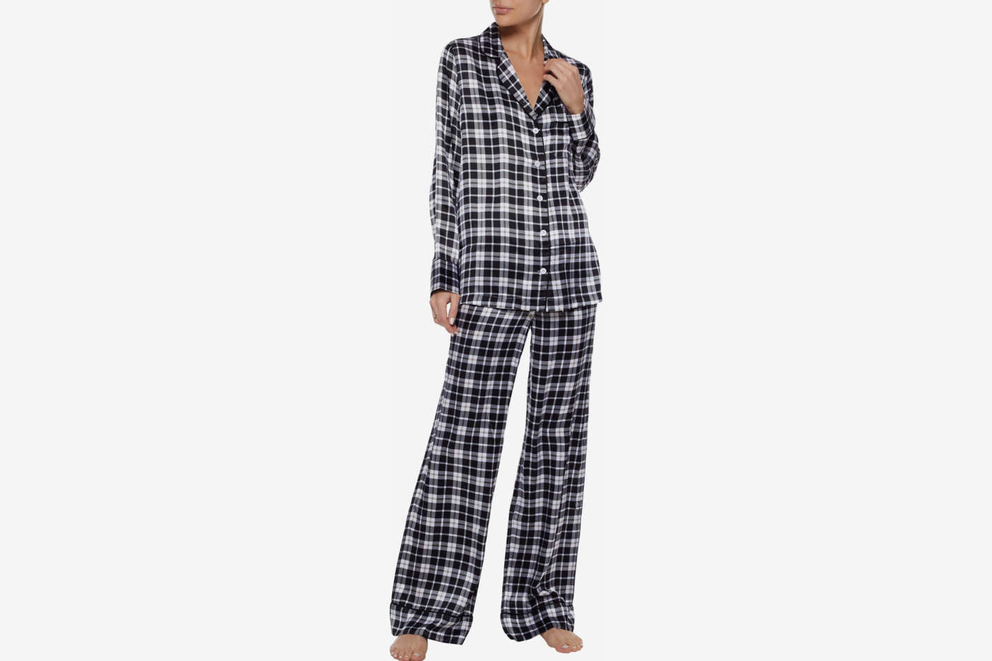 Equipment Checked Pajama Set
