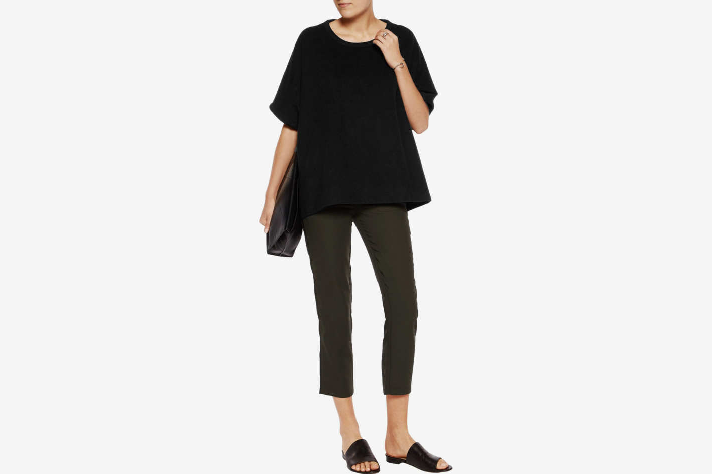 James Perse Oversized Felt Top