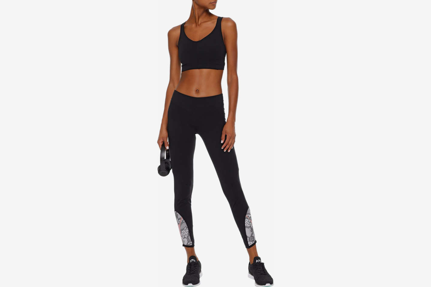 Sapopa Mesh-Paneled Leggings