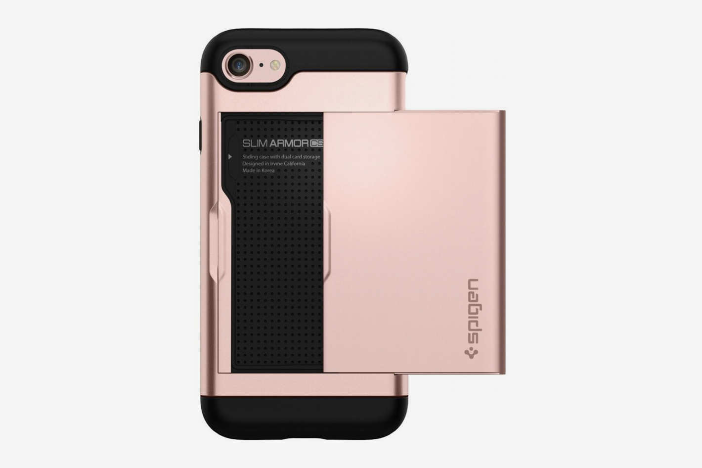 Spigen Slim Armor iPhone Case with Card Slot Holder