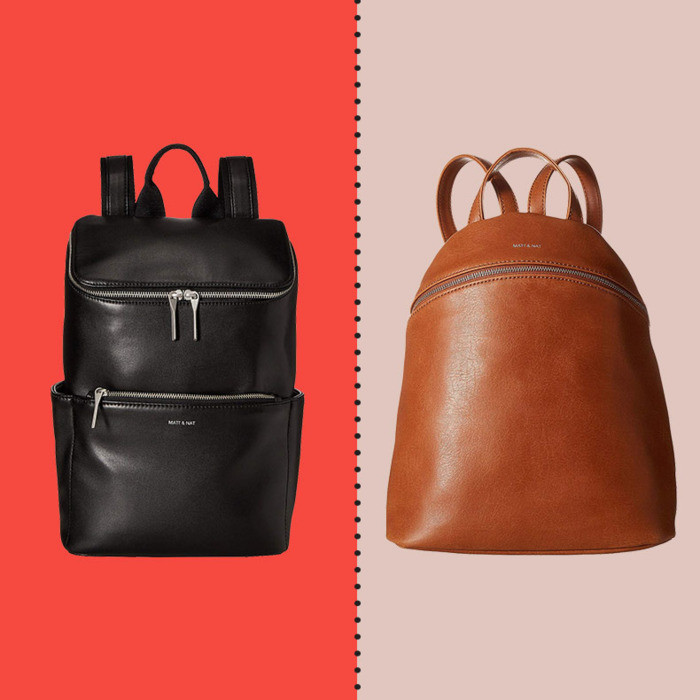 cc1caa02b997 These (Actually Stylish) Vegan-Leather Backpacks From Matt   Nat Are Up to  40 Percent Off