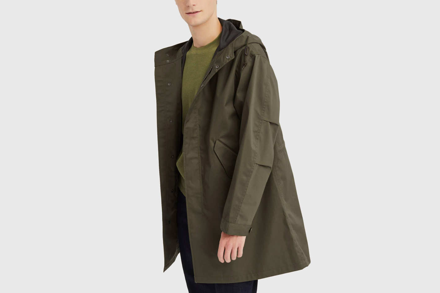 Uniqlo Blocktech Fishtail Parka