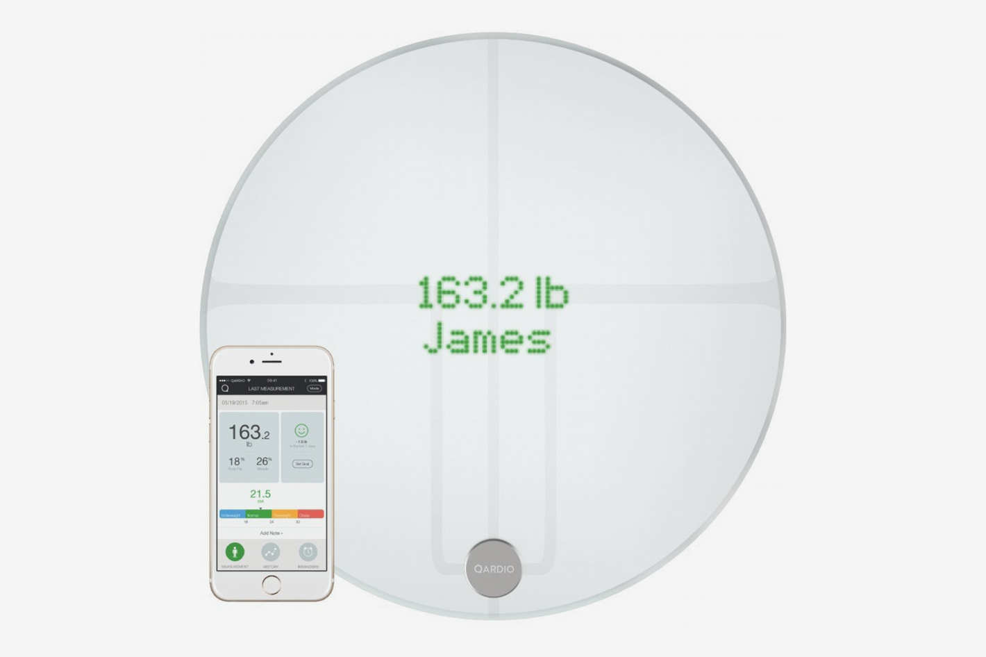 QardioBase2 WiFi Smart Scale and Body Analyzer