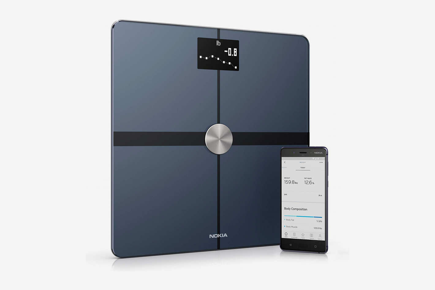 Withings Nokia Body+ Smart Body Composition Wi-Fi Digital Scale