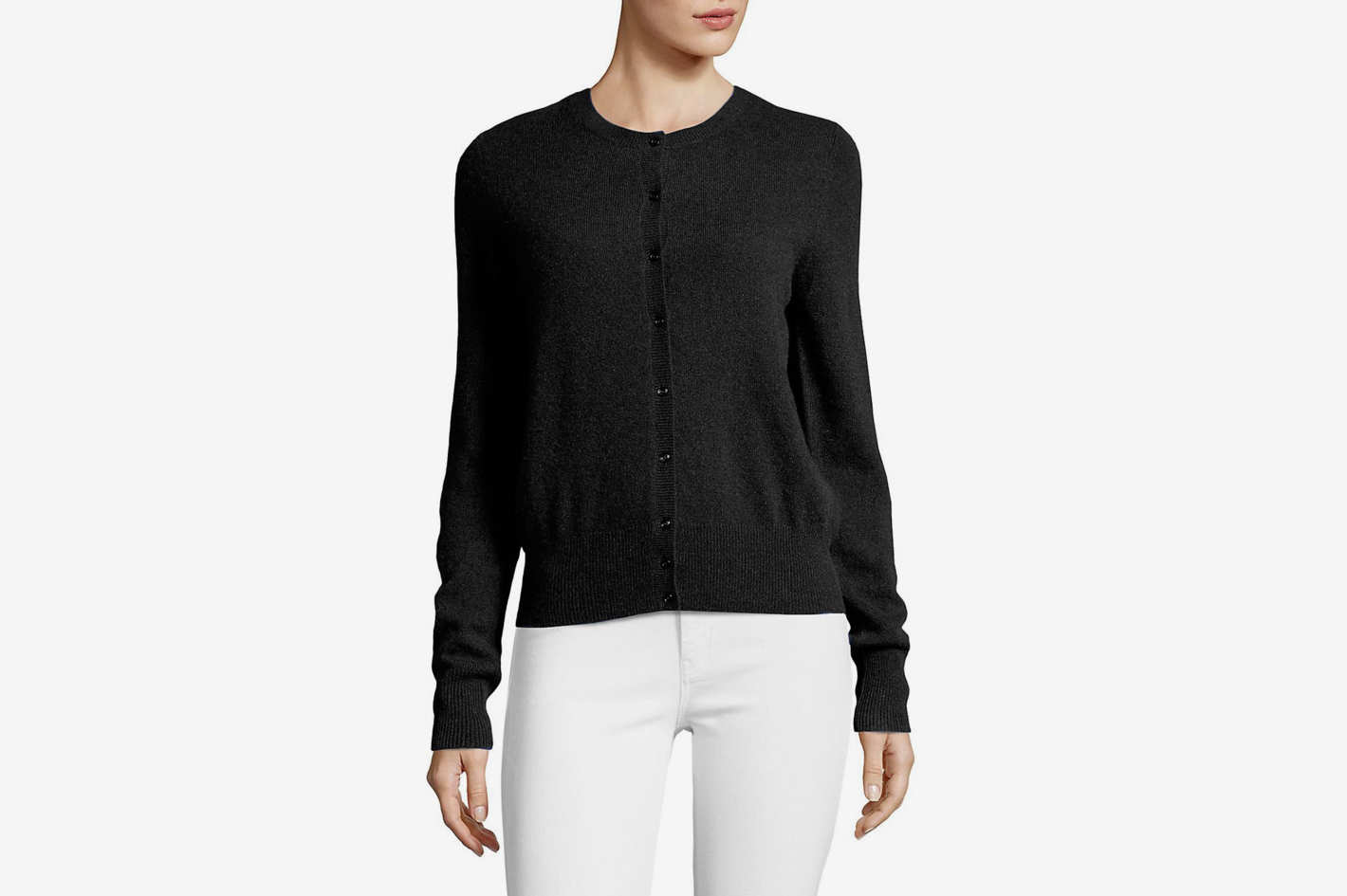 Lord & Taylor Essential Cashmere Cardigan