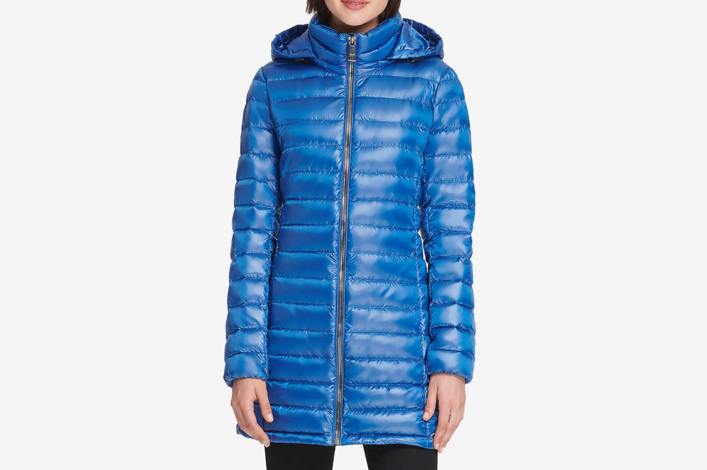 Donna Karan Packable Down Jacket
