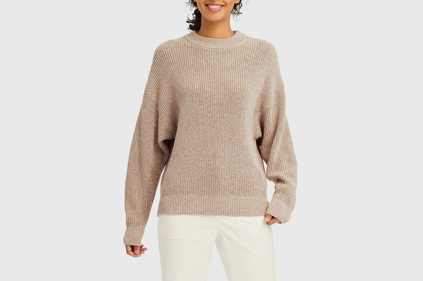 Uniqlo Mixed Dolman Sleeve Sweater