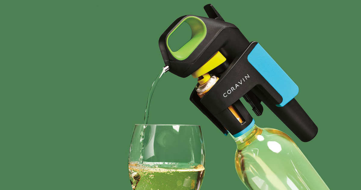 This Fancy Wine Preserver Lets Me Pour a Glass of Beaujolais Without Uncorking the Bottle
