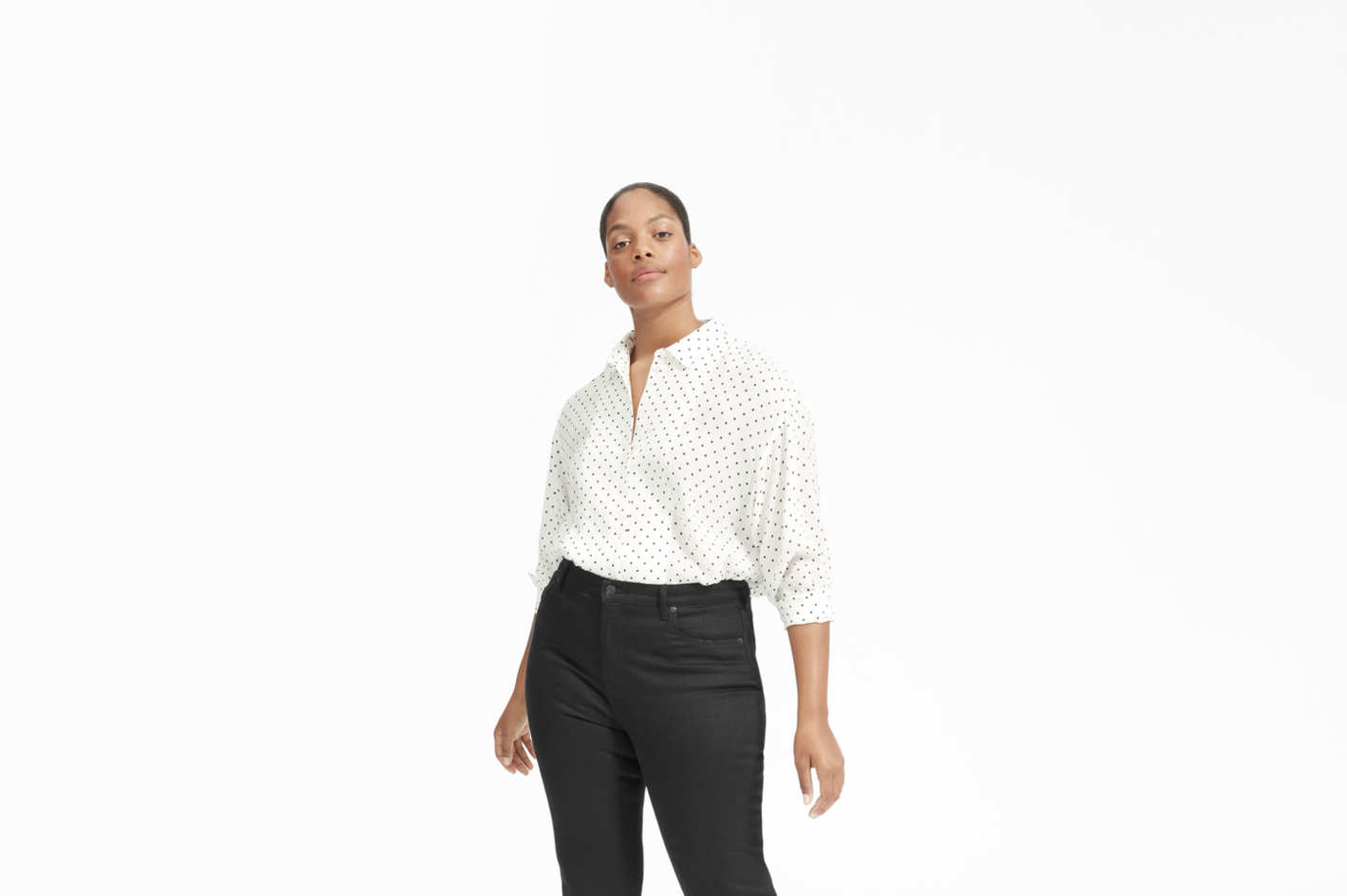 The Polka Dot Oversized Shirt