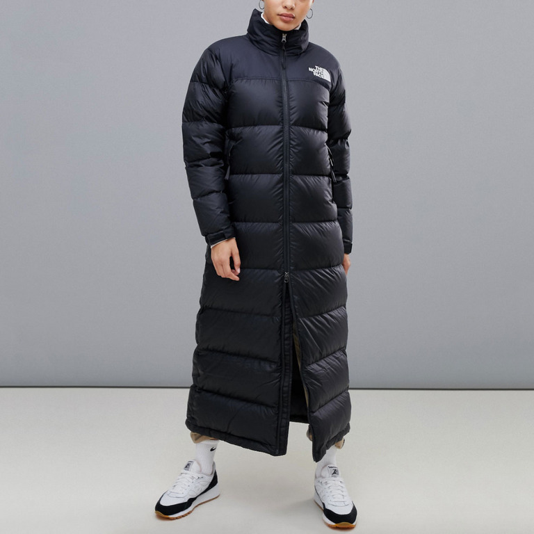 The North Face Womens Nuptse Duster in Black