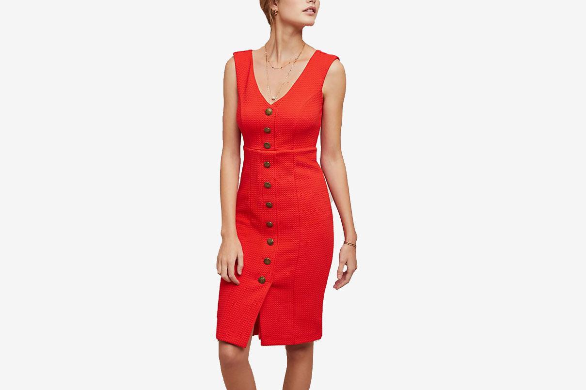 Maeve Sleeveless Buttondown Dress