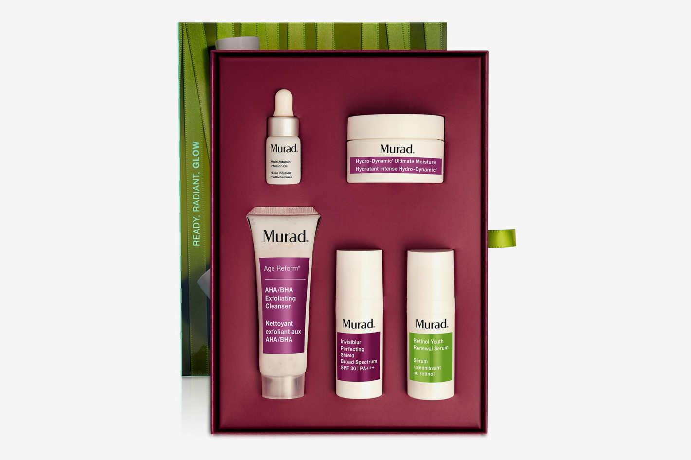 Murad 5-Piece Ready, Radiant, Glow Set