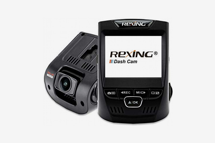 "Rexing V1 Car Dash Cam, 2.4"" Screen, Full HD 1080p 170 Degree Wide Angle"