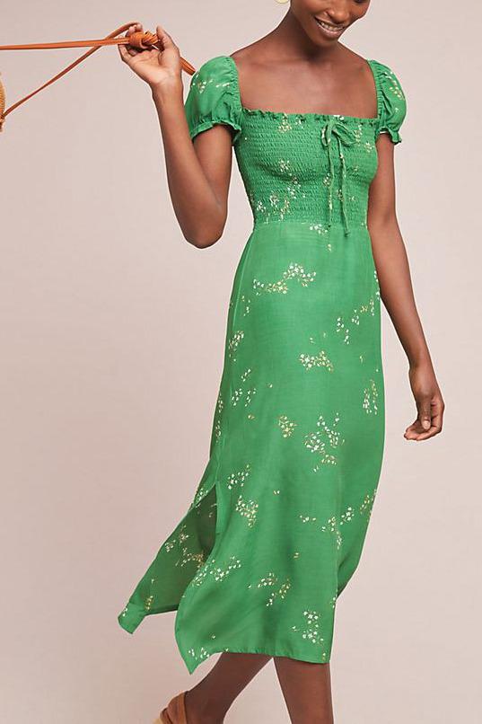 Faithfull Myrtille Midi Dress