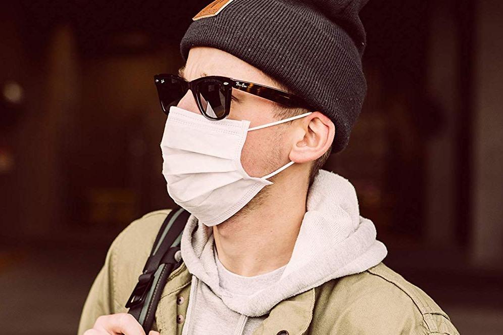 Wellmask Disposable Earloop Face Masks