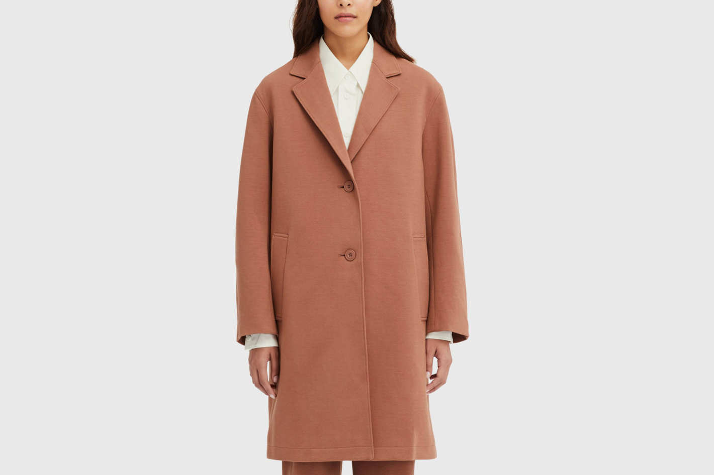 Women U Double Face Coat