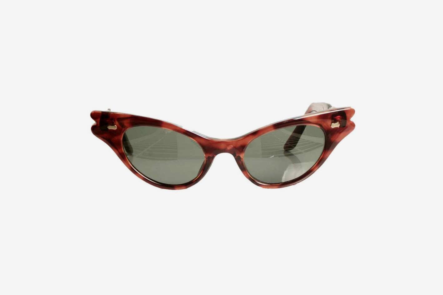 Replay Vintage Sunglasses Rockabilly Cat Tortoise