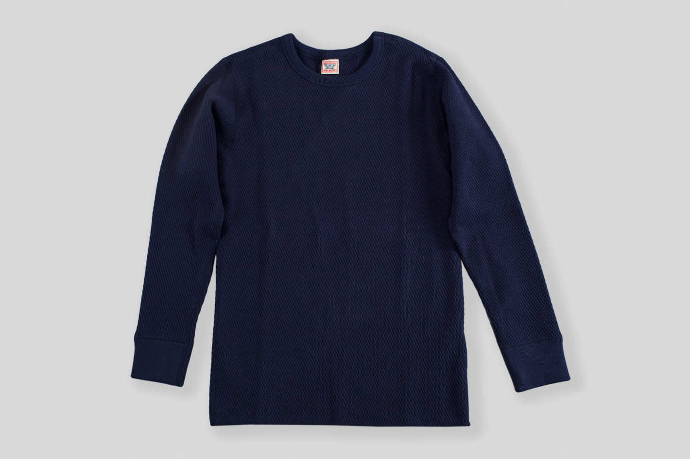 The Real McCoy's Military Thermal Shirt, Navy