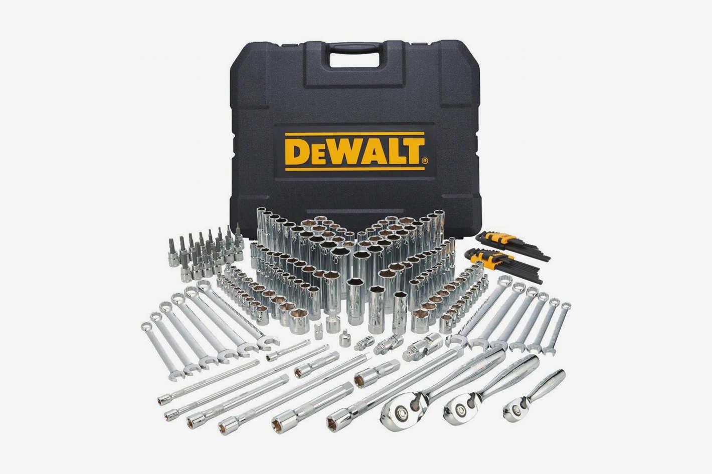 DEWALT Mechanics Tools Kit and Socket Set, 204-Piece