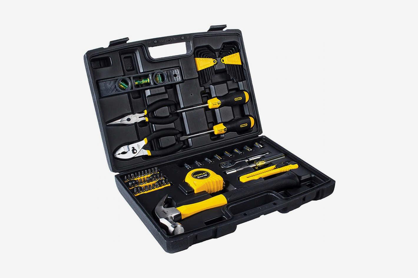 STANLEY 94-248 Homeowner's DIY Tool Kit, 65-Piece